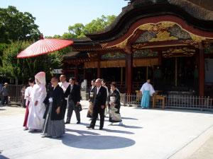 太宰府天満宮結婚式2