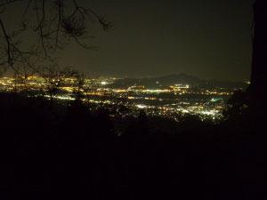 楽園キャンプ場夜景