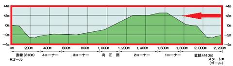 中山芝2200m