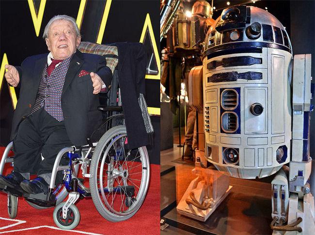 """【訃報】 『スター・ウォーズ』 R2-D2の""""中の人""""が死去。俳優のケニー・ベイカーさん、享年83"""