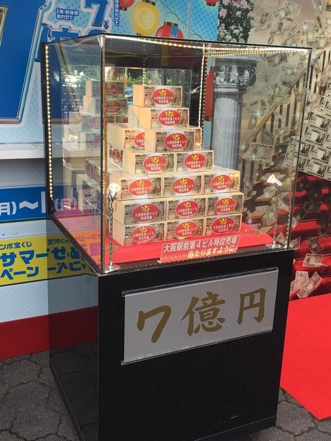 宝くじの売上7%減www