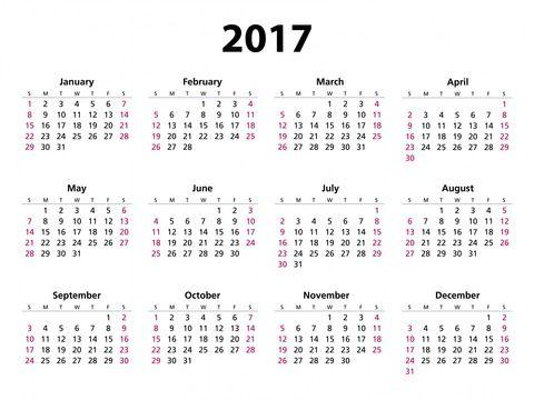 2017年の祝日の数ヤバすぎwwwwwwwwwwwwwww