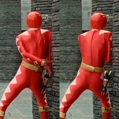 【画像】スーパー戦隊の歴代レッドのプリケツBEST3を発表するwwwwww