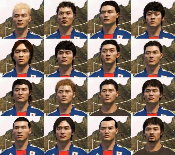 世界的サッカーゲーム「FIFA」の日本代表wwwww