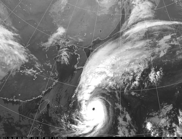 【悲報】台風21号さん、ガチでヤバそう(画像あり)