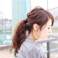 【画像】女子力最高の髪型はポニーテールで決定しましたwwwwwwwww