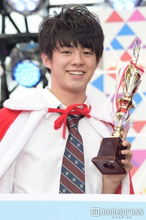 【画像】日本一のイケメン高校生が決定wwwwwwwwwwww