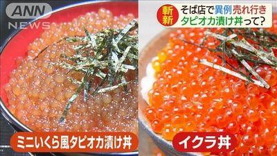 【!?】富士そばがタピオカブームにあやかり、タピオカ漬け丼を作ってしまうwwwwwwwww