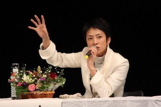 【衝撃】蓮舫氏、過去に舛添氏から求婚受けていたwww