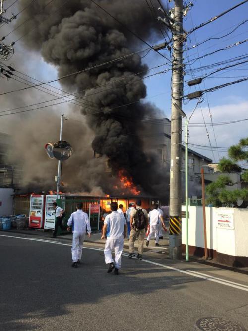 【災害多すぎ】山崎パン工場大炎上wwwwwwwwww