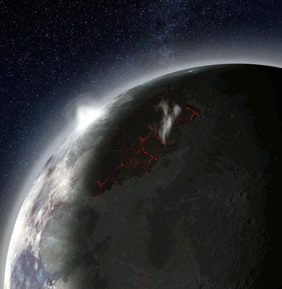 【宇宙ヤバイ】「35億年前、月は大気に覆われていた」NASAが発表!!