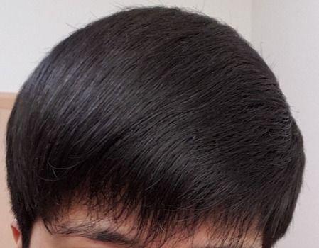 ワイの髪型評価してくれへんか