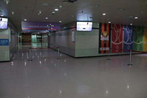 入場前の待機場