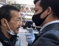 YouTuber、路上喫煙を注意して一般男性と激しい言い争いに