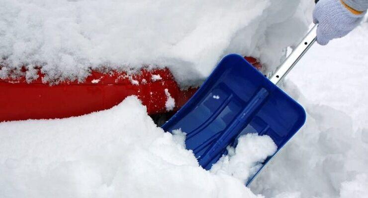 大雪の影響