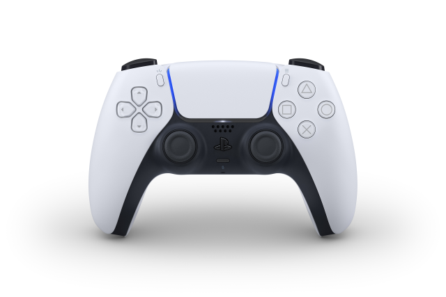 PS5のコントローラーが白gjdn