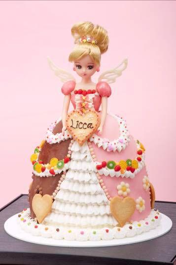 メチャカワ♡ドレス・ドールケーキ☆リカちゃんバービー☆ アナと雪の女王 バースデ\u2026