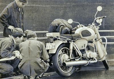 3億円事件の犯行に使用されたバイク