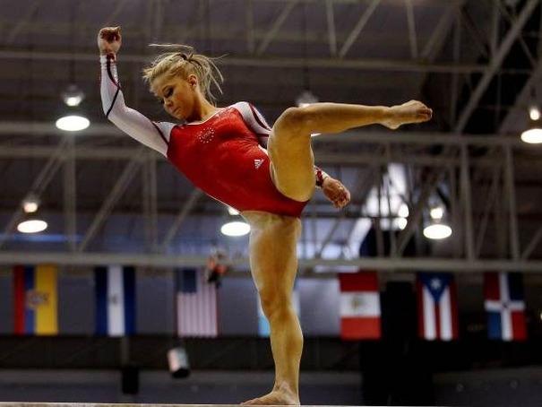 Imágenes de Shawn Johnson en los Juegos Olímpicos