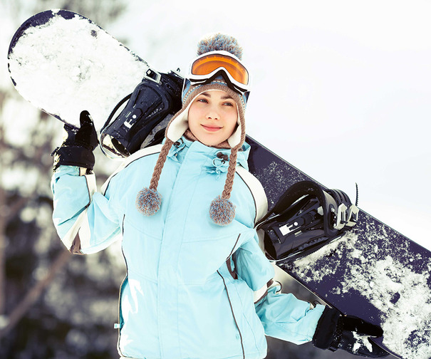 snowboarder-woman