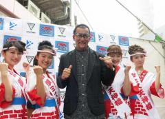 蝶野正洋「変な奴がいたら逃げろ」 大阪で防犯イベント登場