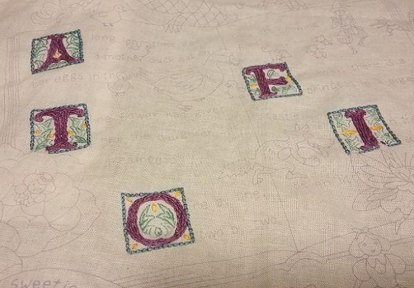 刺繍をはじめてみました