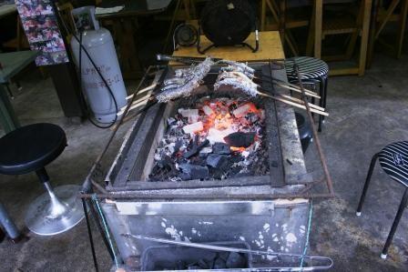 アマゴ炭火焼き
