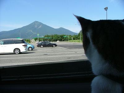 磐梯山です