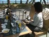 メープルカフェでランチ