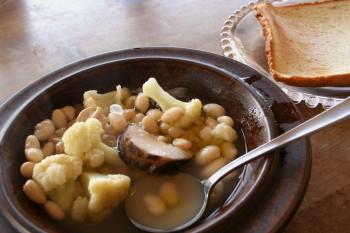 朝のスープ