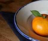 みかんin 皿