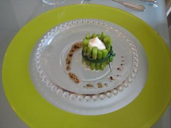 アスパラの前菜