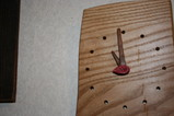 栗の木の時計