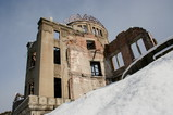 雪と原爆ドーム2
