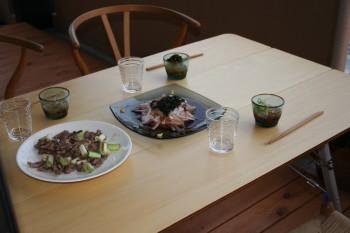 ユニフレームのテーブル