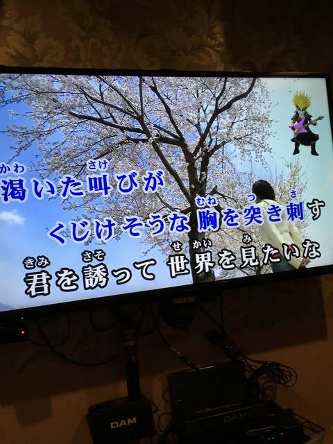 音楽の成績2のおっさんがDAMカラオケでアニメ映像が出る遊戯王ソングを探して来た