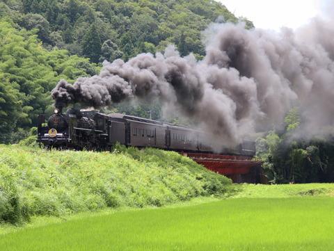 〇長門峡-渡川(2020.8.1)16