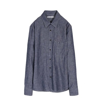 KURO  Joshua Basic Shirt Indigo