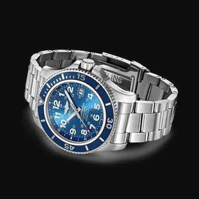 BREITLING Superocean II 44 BLUE (3A)