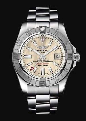 AVENGER II GMT MOTHER OF PEARL- JAPAN SPECIAL EDITION