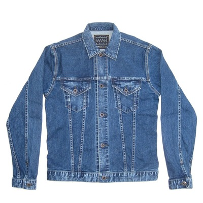 KURO  JETTA DENIM JACKET VINTAGE WASH 001