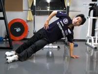 打たれ強いボディ、ウエスト引き締めくびれを作る腹斜筋エクササイズ