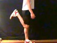 スタンディング・レッグカール/下腿三頭筋
