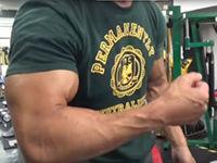 11分で腕を強烈にパンプさせることができるトレーニング法