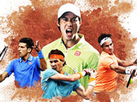 全仏オープン2015 錦織 圭の試合や決勝の日程、地上波生放送は??