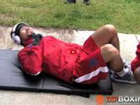 マニー・パッキャオの腹筋トレーニング