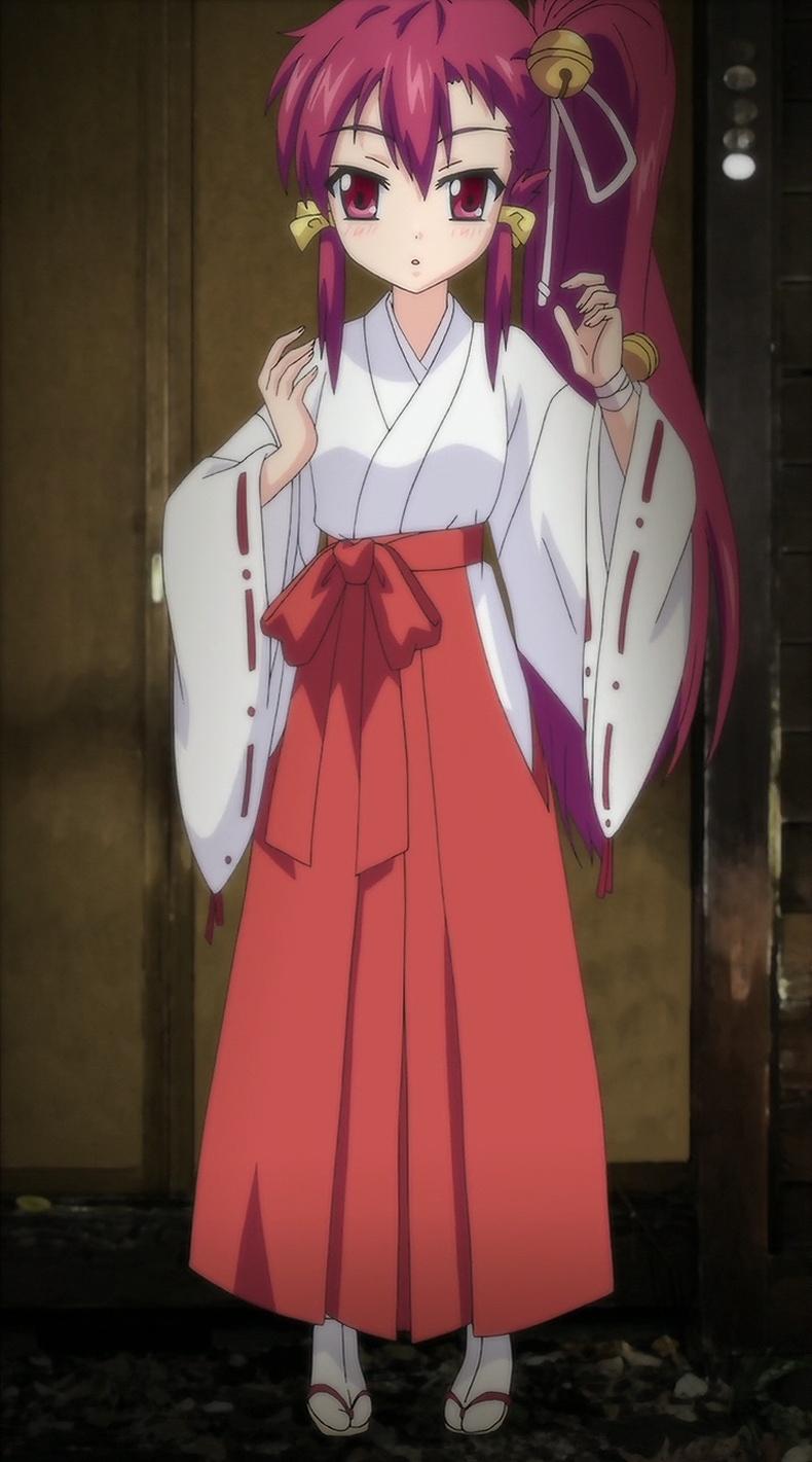 エロアニメが マヨヒガのお姉さん