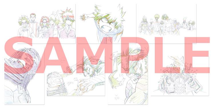 複製原画ポストカード(7枚セット)3巻