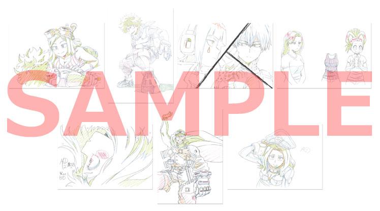 複製原画ポストカード(7枚セット)5巻