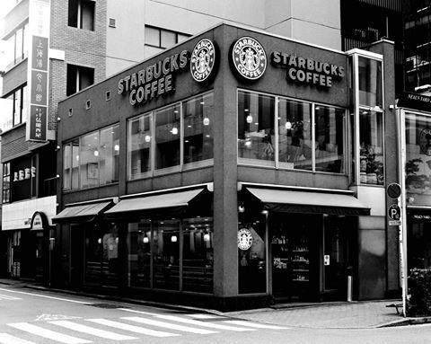 スターバックス日本1号店